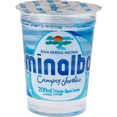 Água Mineral sem Gás Minalba 200ml
