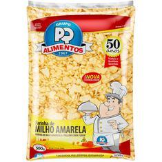 Farinha de Milho Amarela PQ 500g