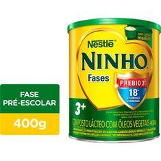 Composto Lácteo em Pó Ninho Fases 3+ Nestlé 400g