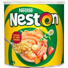 Cereal em Flocos 3 Cereais Neston Nestlé 400g
