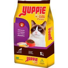 Alimento para Gatos Yuppie Peixe 1kg
