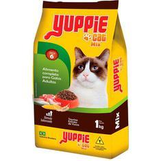 Alimento para Gatos Yuppie Mix Sabores 1kg