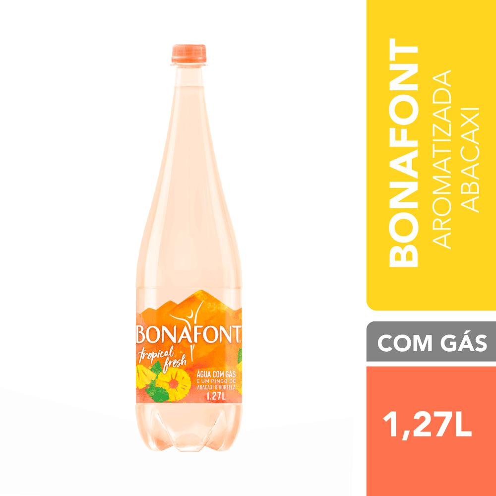 Água Mineral com Gás Tropical Fresh Bonafont 1,27L
