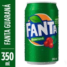 Refrigerante Sabor Guaraná Fanta 350ml