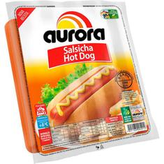 Salsicha Hot Dog Aurora 500g