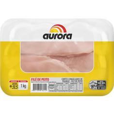 Filé de Peito Frango Congelado Aurora 1kg