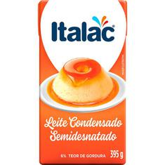 Leite Condensado Semidesnatado Italac 395g