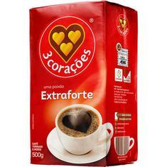 Café a Vácuo Extraforte 3 Corações 500g