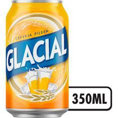 Cerveja Pilsen Glacial 350ml
