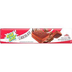 Biscoito Recheado Sabor Chocolate Kidlat Duchen 150g