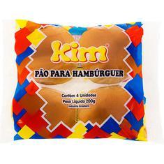 Pão de Hambúrguer Kim 200g