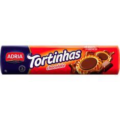 Biscoito Recheado Tortinhas Sabor Chocolate Adria 160g
