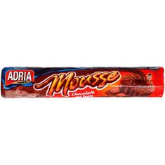 Biscoito Recheado Adria Mousse chocolatee 150g