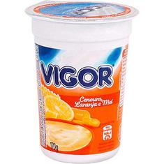 Iogurte Natural Vigor Laranja Cenoura e Mel 170g