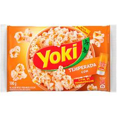 Milho de Pipoca Para Micro-Ondas Temperado Toque de Chef Yoki 100g