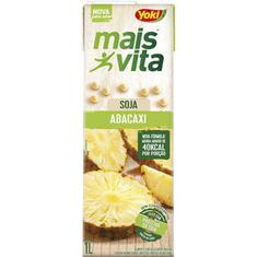 Bebida de Soja Mais Vita Sabor Abacaxi Yoki 1L