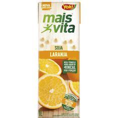 Bebida de Soja Mais Vita Sabor Laranja Yoki 1L