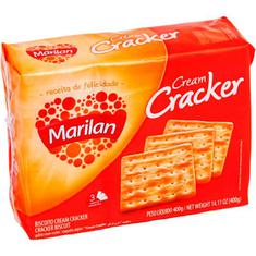 Biscoito Cream Cracker Marilan 400g