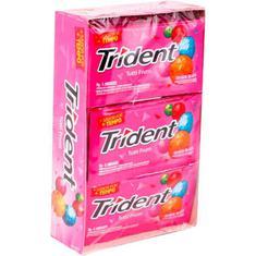 Goma de Mascar Trident Tutti Frut 21 unidades 36g