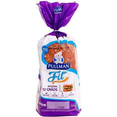 Pão de Forma Integral 100% Fit 12 Grãos Pullman 350g