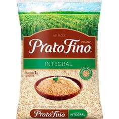 Arroz Integral Prato Fino 1kg