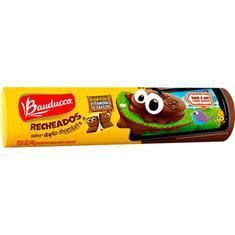 Biscoito Recheado Duplo Chocolate Bauducco 140g