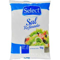 Sal Select Refinado 1kg