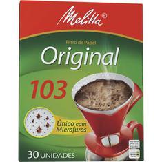Filtro de Papel 103 Melitta 30 unidades