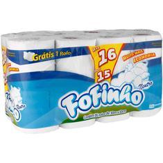 Papel Higiênico Fofinho Folha Simples L16P15 30m