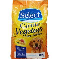 Alimento para Cães  Select Carne e Vegetais 20kg
