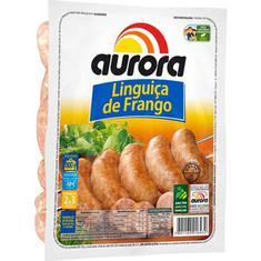 Linguiça de Frango Congelada Aurora 800g
