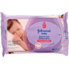 Lenço Umedecido Johnson's Baby Hora do Sono 48un