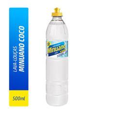 Detergente Líquido Minuano Coco 500ml
