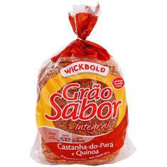 Pão de Forma Wickbold Castanha Com Quinoa 500g