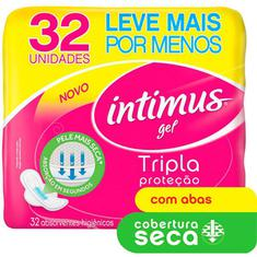 Absorvente  Intimus Gel Normal Seca com Abas 32un