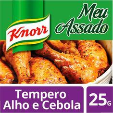 Tempero Frango Assado Knorr Cebola e Alho 25gr