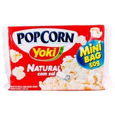 Milho de Pipoca Pop Corn Sal Yoki 50g
