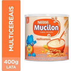 Cereal Infantil Multicereais Mucilon 400g