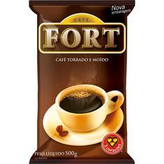 Café Torrado e Moído Almofada Fort 500g