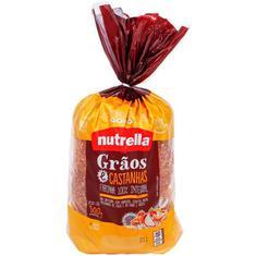 Pão de Forma Nutrella Grãos Castanhas 500g