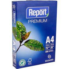 Papel Report A4 Multiuso Laser 75g 500 folhas