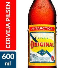 Cerveja Pilsen Original Antarctica 600ml