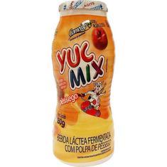 Iogurte Sabor Pêssego Garrafa Yuc Mix 180g