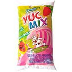 Iogurte Sabor Morango Yuc Mix 1L