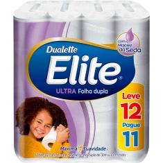 Papel Higiênico Dualette Elite 30m Leve 12 Pague 11