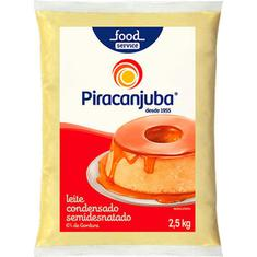 Leite Condensado Semidesnatado Piracanjuba 2,5kg