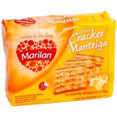 Biscoito Cracker Manteiga Marilan 400g