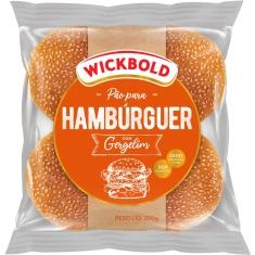 Pão Wickbold Hambúrguer Gergelim 200g