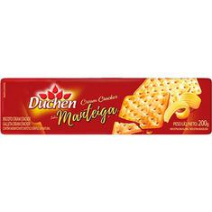 Biscoito Cream Cracker sabor Manteiga Duchen 200g