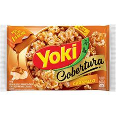 Milho de Pipoca Para Micro-Ondas sabor Caramelo Yoki 160g